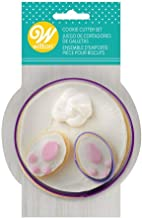 WILTON Easter Cookie Cutter Set Bunny Butt And Feet, 1 EA