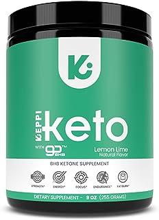 KEPPI Exogenous Ketones Keto Salts BHB Powder Supplement: Ketone Supplement Formulated to Increase Energy, Burn Fat, Maint...