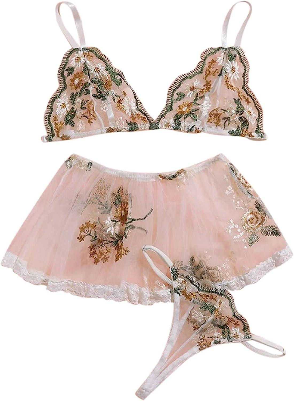 xoxing Women's Lingerie Plus Size Sleepwear Sexy Intimates Underwear Pajamas Chemise Halter Nightwear Tank Tops (C)