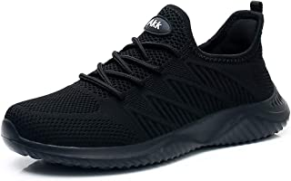 Sponsored Ad - Akk Womens Walking Tennis Shoes - Slip On Memory Foam Lightweight Casual Sneakers for Gym Travel Work