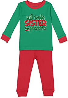 Will Trade Brother for Presents - Xmas Kids Pajama Set