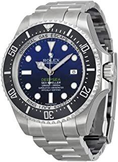 Rolex Deepsea Deep Blue Dial Stainless Steel Mens Watch 116660BLSO