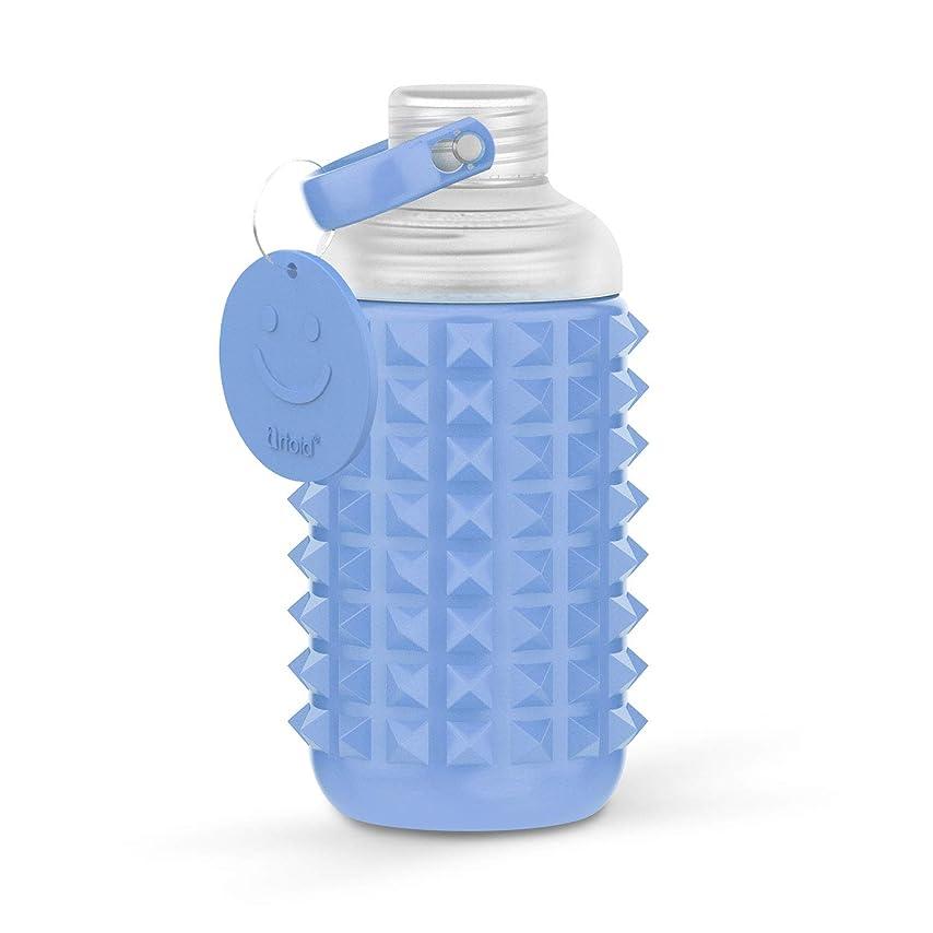 投票偽造活気づけるArtoid Mode 600ml ウォーターボトル スマイル 取って付き 水筒 直飲み 軽量 プラスティック BPA フリー