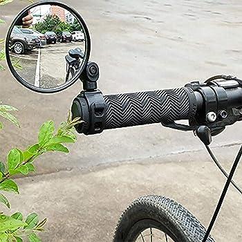 Bicicletta Bicicletta Ciclismo Universale Specchietto retrovisore regolabile Manubrio Specchietto retrovisore Accessori per bici Sicurezza flessibile Retrovisore