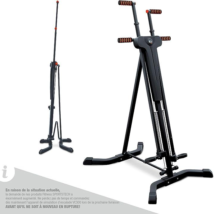 Stepper & climber vc300 2in1, fitness, movimenti per arrampicata sp_vc300_fr