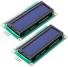 FICBOX IIC/I2C 1602 Serial 5V Blue Backlight LCD Display for Arduino 2560 UNO AVR