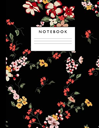 Notebook: Cute Lined Journal Ruled Composition Note Book to Draw and Write In for Girls and Boys - Home School Supplies for K-12 Grade Highschool and College: Cover Design 068