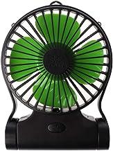 YAOHEHUA 360 graden roterende draagbare handsfree nek opknoping ventilator USB oplaadbare luchtkoeler sport 3 versnellinge...