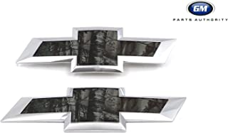 2016-2018 Chevrolet Silverado 1500 Realtree Camo Bowtie Emblems 84244765 OEM GM