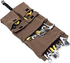 Robuste Roll-Werkzeugtasche, Werkzeugtasche, Tragetasche, Segeltuch, Werkzeug-Organizer, Eimer, Werkzeug zum Aufrollen, zum Aufhängen, Kulturbeutel, Reisezubehör, Off-Road- und Campingausrüstung