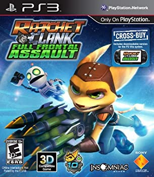 Ratchet & Clank  Full Frontal Assault - Playstation 3