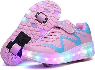 Roller Shoes Roller Skates Shoes Girls Boys Wheel Shoes...