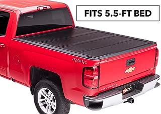 BAKFlip F1 Hard Folding Truck Bed Tonneau Cover   772120   Fits 15-18 GM Silverado, Sierra 2014 1500, 15-19 ALL 5' 8