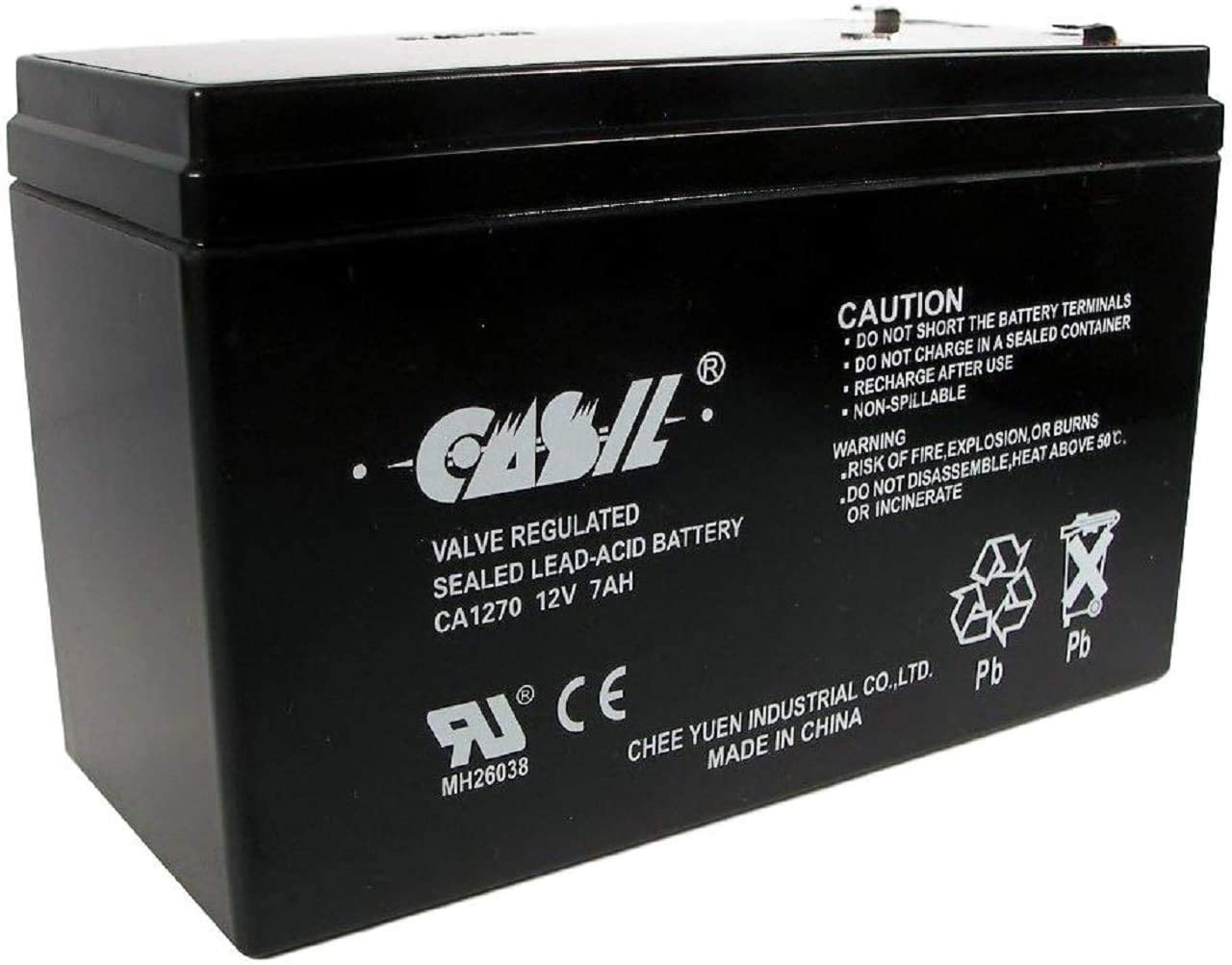 CASIL 12V 7AH CA1270 Mail order cheap Security Replacement 623 Battery Free Shipping New Systems 12