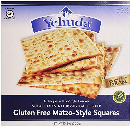 Glutenfreies Matzo Stil Quadrate, Yehuda Matzot Matzos koscher jüdische Speisen (Rein für Passahfest), 300g