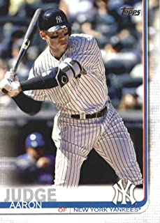 2019 Topps Baseball #150 Aaron Judge New York Yankees