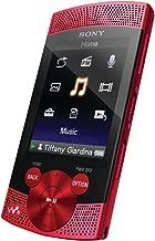 Sony Walkman NWZ-S544 Series 8 GB Video MP3 Player (Red)