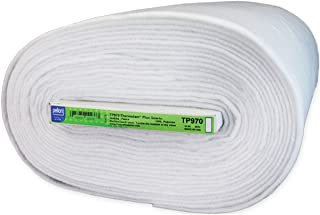 Pellon Thermolam Plus Fleece, 45-Inch by 20-Yard, White