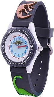 Wolfteeth Wrist Watch for Kids Boys Watch Waterproof Second Hand 3D Dinosaur Watch Band 3059
