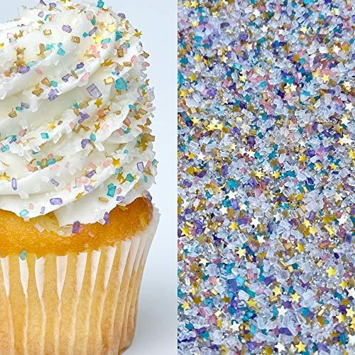 Sprinkles | 8 oz | Unicorn Sprinkle | Unicorn sugar | Cupcake sprinkles | Cookie sprinkles | Cocktail sugar | Colored sugar | Manvscakes