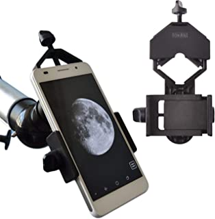 Best Gosky Universal Cell Phone Adapter Mount - Compatible Binocular Monocular Spotting Scope Telescope Microscope-Fits almost all Smartphone on the Market -Record The Nature The World Reviews