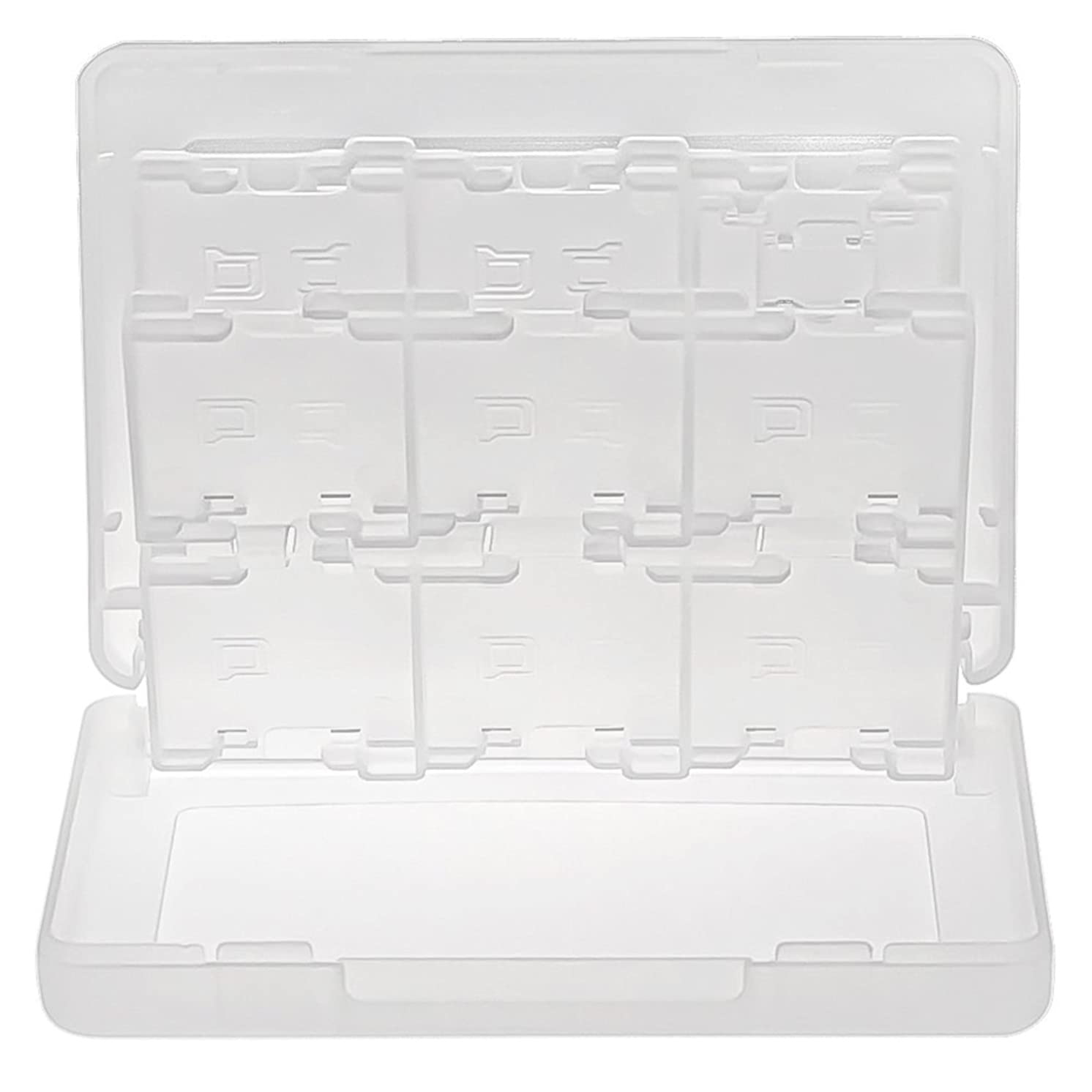 CommonByte White 28 in 1 Game/TF/SD Card Plastic Case For Nintendo 3DS