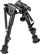 CVLIFE Hunting Rifle Bipod – 6 Inch to 9 Inch Adjustable Super Duty Tactical Rifle Bipod