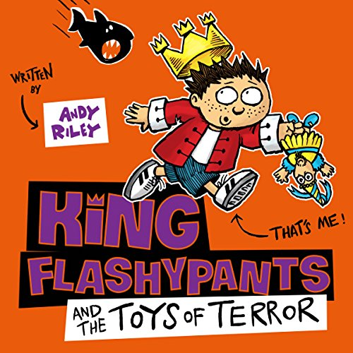 King Flashypants and the Toys of Terror cover art