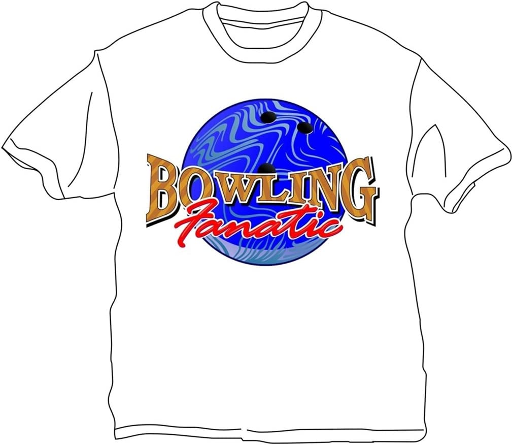 Bowlerstore Products Bowling Ranking TOP1 Mail order T-Shirt- Fanatic White
