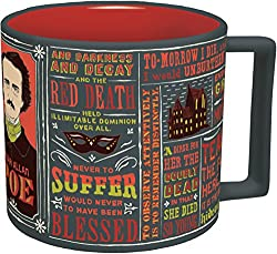 Edgar Allan Poe Coffee Mug - Amazon Prime