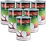 [ 6x 400ml ] ROYAL THAI Kokosnussmilch / Kokosmilch / Coconut Milk