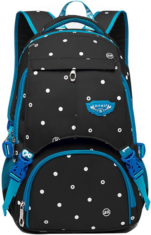 FLHT, Men And Women Backpack, College High School Students School Campus Bag, Leisure Travel Large Capacity Lightweight Backpack,BlackblueeL