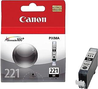 Canon 2946B001 OEM Ink - (CLI-221BK) iP3600 iP4600 iP4700 MP540 MP550 MP560 MP620 MP630 MP640 MP980 MP990 MX860 MX870 Blac...