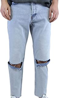 Cheap Monday Pantaloni High Skin Recycled Media Blue Jeans-27
