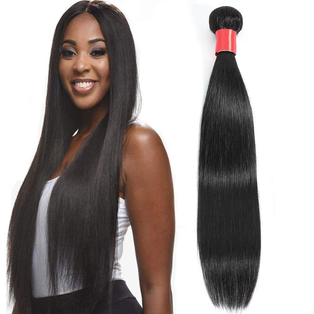 Lizourey Hair Award Unprocessed Brazilian Straight Max 82% OFF Virgin On