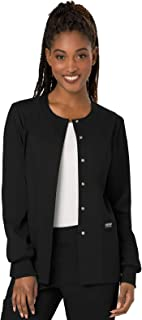 Cherokee Women's Snap Front Warm-up Jacket