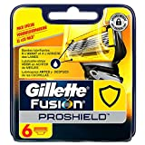 Ancienne Version/Gillette Fusion ProShield Lames De Rasoir Pour Homme - 6Recharges