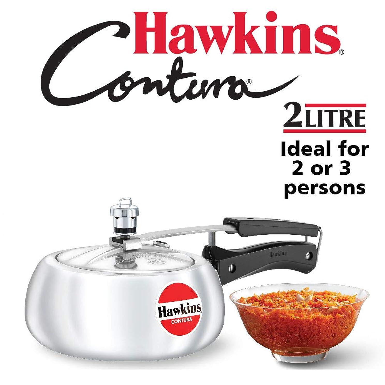 クレーター浸透する創造Hawkins M25 Contura Pressure Cooker - 2 Litres
