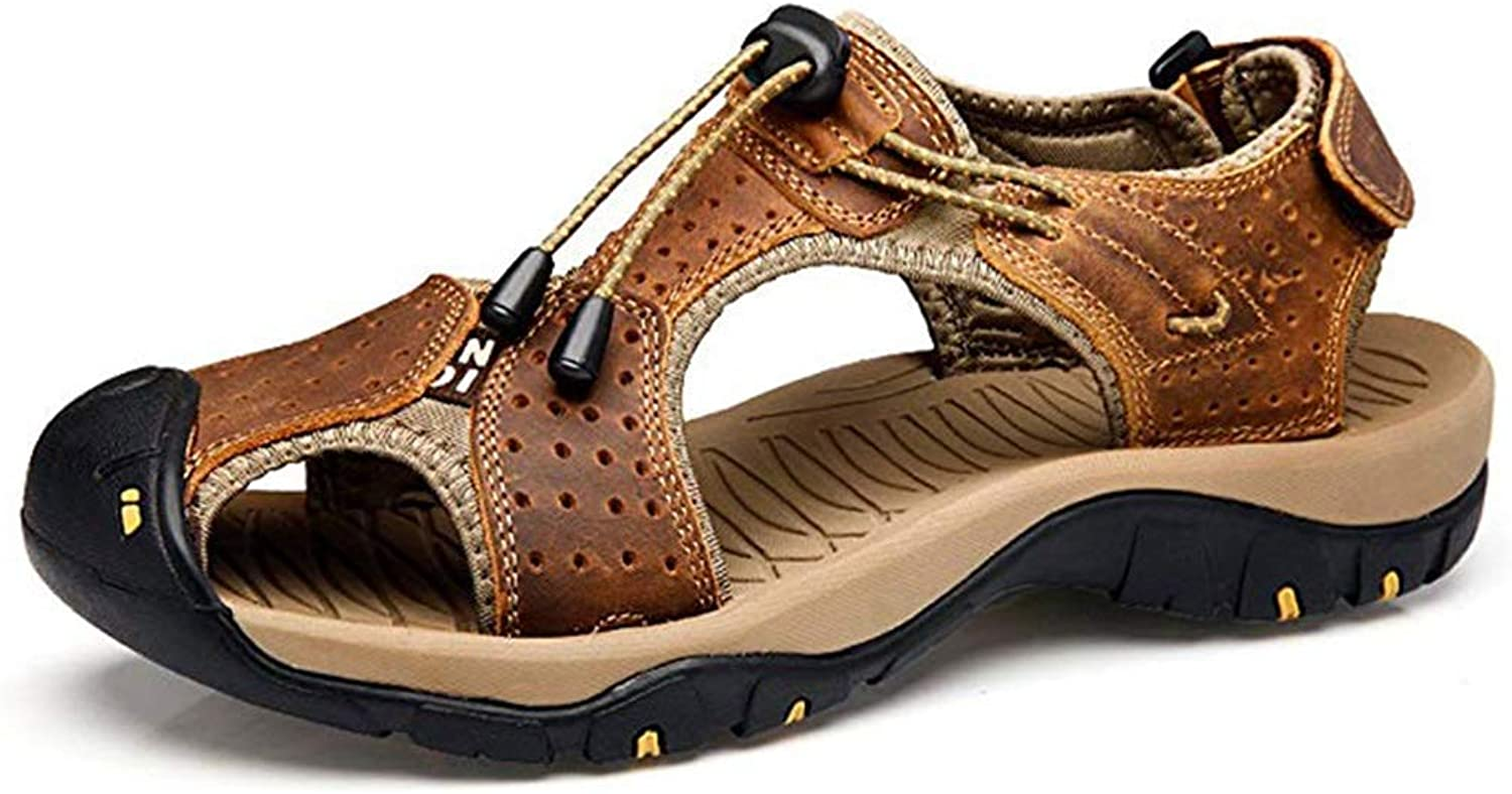 shoes Sandals Men's Mountaineering Sandals Running And Sports Sandals Outdoor Hiking shoes Waterproof Multi-functional Sandals Outdoor shoes (color   Brown, Size   41)