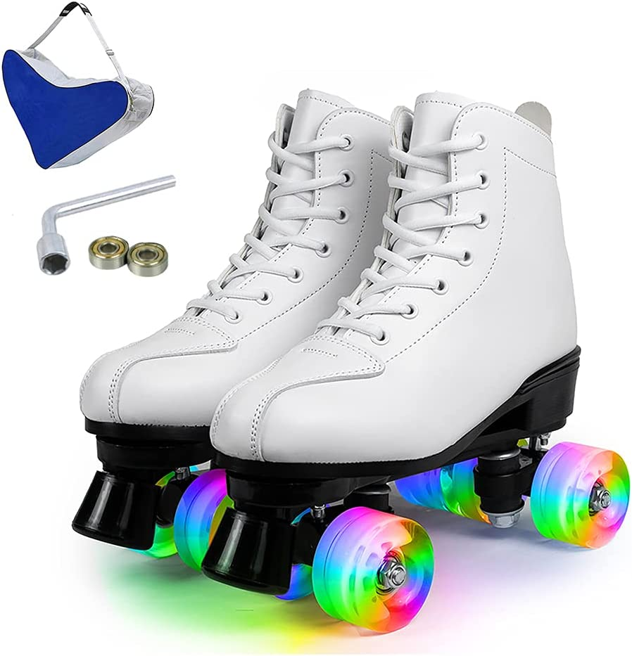 Premium Roller Skates Popularity Time sale for Women Four-Wh and Men Classic High-Top