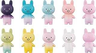 絶対に壊れない友だちをください。 ウサギ型UMAオガクズのソフビフィギュア ノンスケール PVC製 塗装済みソフビフィギュア 9個入りBOX