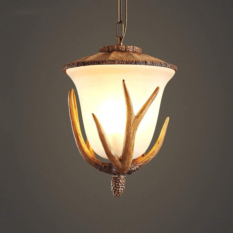 CN Retro Geweih Hängeleuchten Wohnzimmer Nordic Kreative Licht Licht Licht Kaffee Treppe Lichter Schlafzimmer Lampen B07K64RR5D | Online einkaufen  46a47c