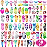 Best Barrettes For Toddlers - Girls Hair Clips Barrettes, Funtopia 80 Pcs Lovely Review
