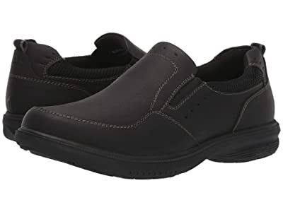 Nunn Bush Kore Walk Slip-On (Black) Men