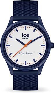 Ice-Watch - Ice Solar Power Pacific Mesh - Montre Bleue Mixte avec Bracelet en Silicone - 018394 (Medium)