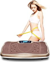 Fitness Vibration Plate 99 Levels Bluetooth Speakers LCD Display Remote Control Low Noise Lose Fat Tone Up at Home Slimming Machine Fat Burning Fitness Machine DSB Estimated Price : £ 297,37