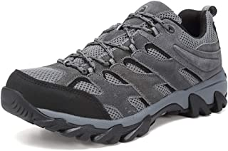 Men's Lightweight Hiking Shoes Camping Shoes Outdoor Sneakers U419FSYDX002-dark grey-43