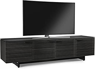 BDI 8173 CRL Corridor Low TV Stand & Media Cabinet, Charcoal Stained Ash