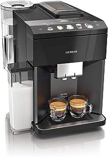 Siemens EQ.500 integral TQ505R09 – Machine à café automatique avec écran tactile – Permet de préparer deux tasses simultan...