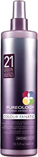 Best Pureology Colour Fanatic Leave-In Conditioner Hair Treatment Detangling Spray | Protects Hair Color From Fading | Heat Protectant | Vegan Review
